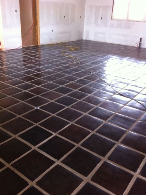 8 Best Images About Dark Saltillo Tile On Pinterest