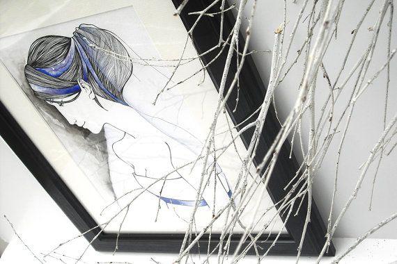 Circe  A4 PRINT  Makissima by makissima on Etsy, $19.00