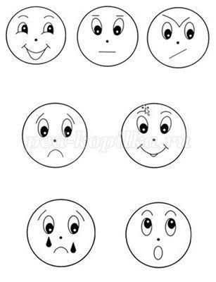Дидактические игры для детского сада «Эмоции ребенка»