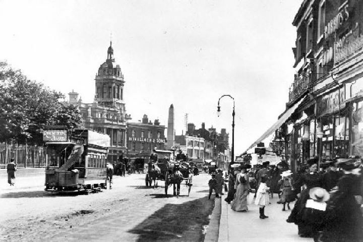 Stratford Town Centre East London England in 1898