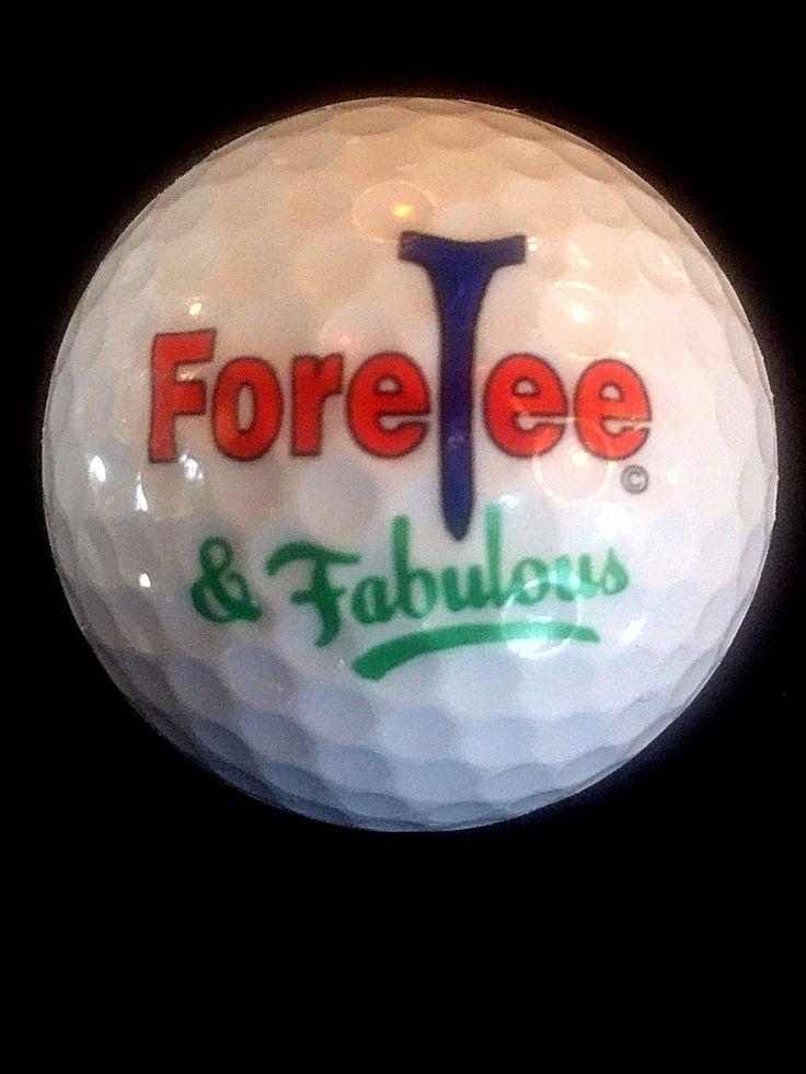 Happy 40th Birthday!!!  LOGO GOLF BALL FUN gift item!!!
