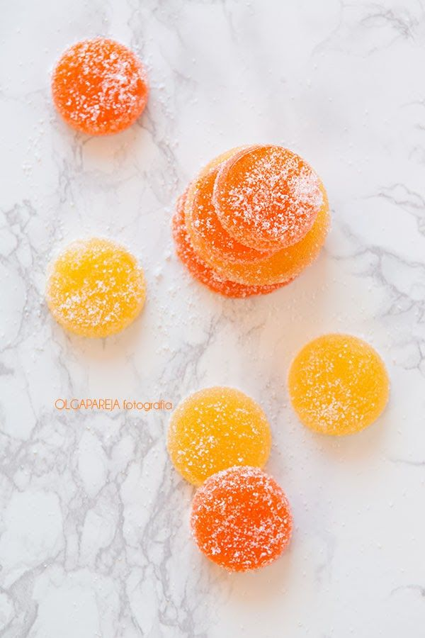 Nina's Kitchen: Gominolas de zumo de naranja natural