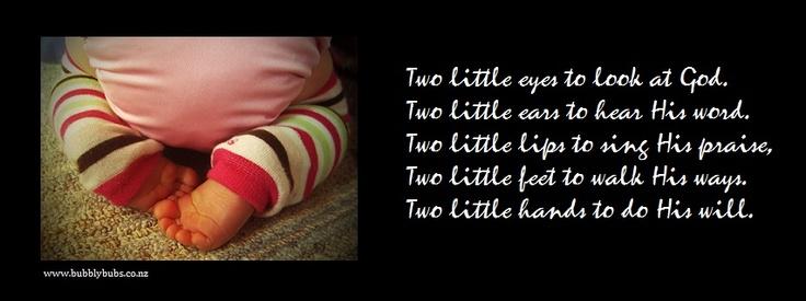 Two little legs...