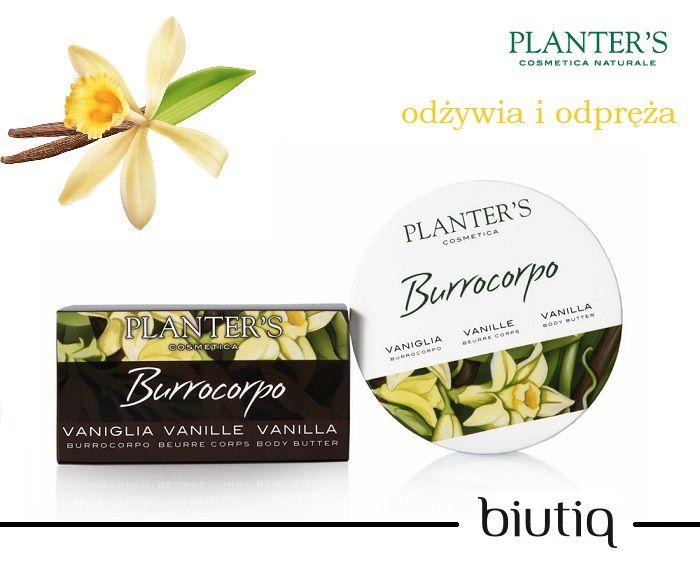 Planter's - Waniliowe odprężające masło do ciała