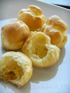 DOLCEmente SALATO: Pasta bignè o pasta choux di Montersino