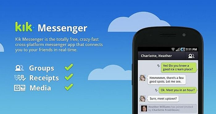 Descarga la App de KiK Messenger y úsala como Asistente - http://www.chatapps.es/descarga-la-app-de-kik-messenger-y-usala-como-asistente