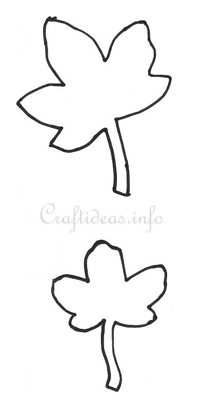 29 best Crafts and fun ideas images on Pinterest Beautiful - leaf template