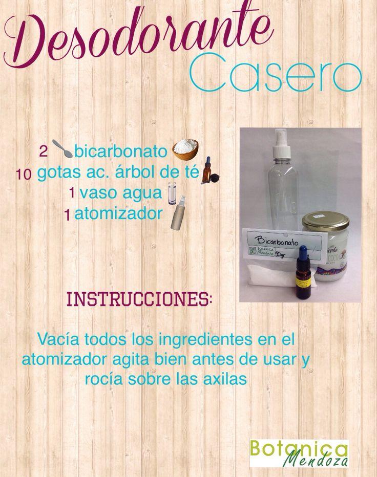 Un fácil y sencillo desodorante