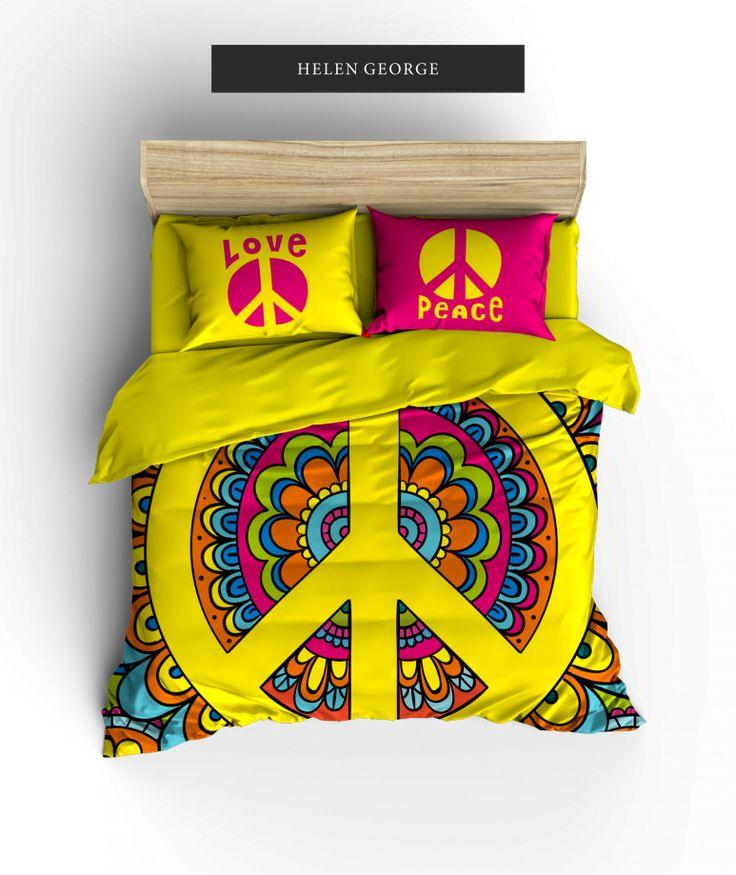 Peace Nevresim Takımı (Sınırlı Sayıda) - Ev Tekstili 310527 | zet.com