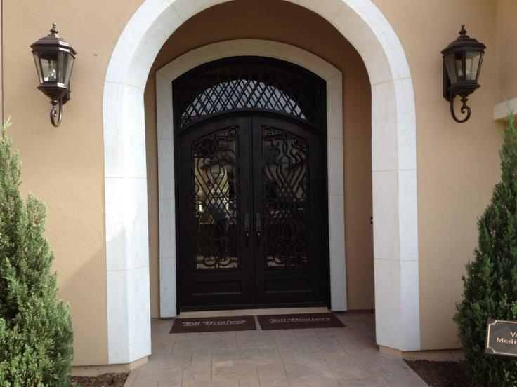 Vallagio Entrance Door Toll Brothers Dominion San Antonio