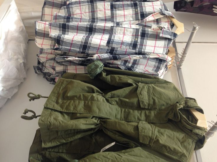 Gap's plaid shirts and parka's now available at #Stuttafords