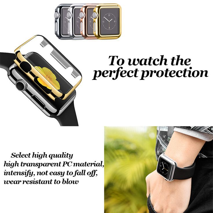 Applicable to apple iwatch 2 generation S2 Apple watch protective shell PC protective cover plated gold plated case