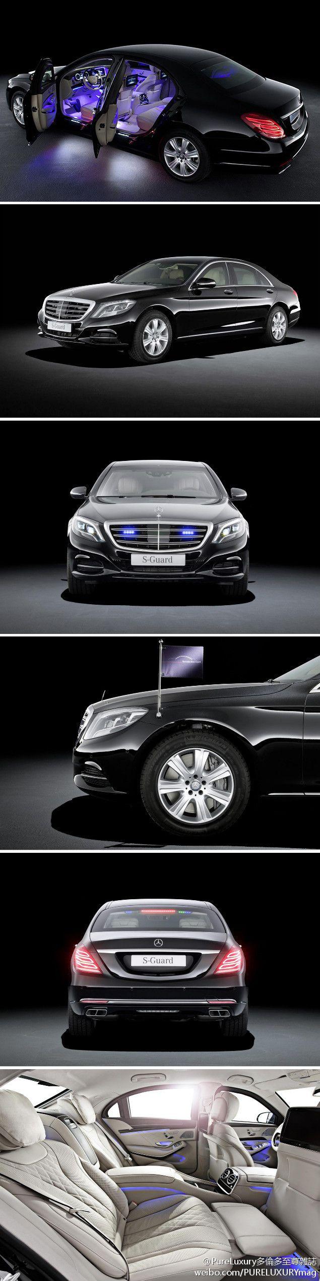 #Mercedes-Benz S600 Guard #car