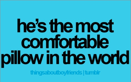 so true <3 without my man next to me, sleeping would be an impossible task!