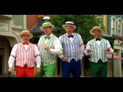 Disneyland Birthday Song (Barbershop quartet)