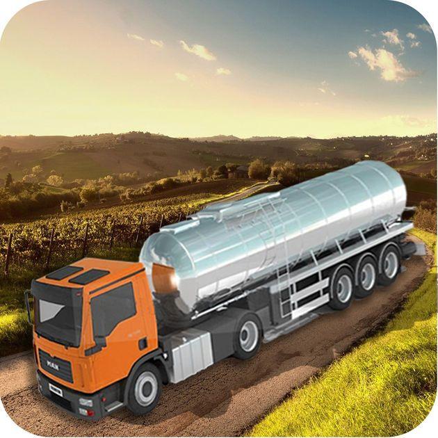 #NEW #iOS #APP Oil Tanker Truck Simulator: Fuel Transport Supply - Nasru Minallah
