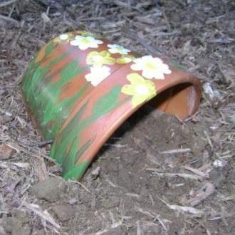 Flowerpot Toad House - K McAllister