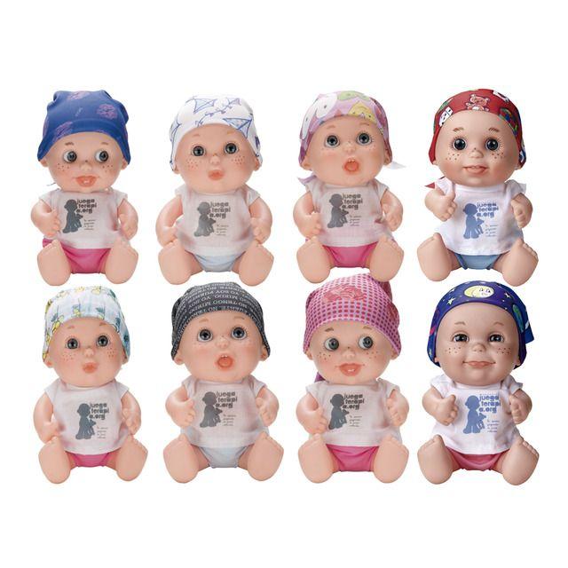 Juegaterapia Muneco Baby Pelones Juegaterapia En 2020 Pelon