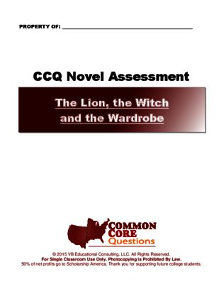 essay lion test wardrobe witch
