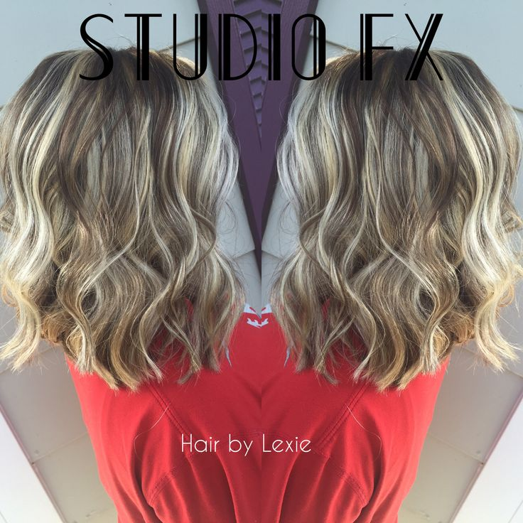 Beautiful Long bob with all over highlights using Redkens Flash Life + 30 vol & Lowlights using Redkens Color fusion 6Na + 5N + 20 vol.