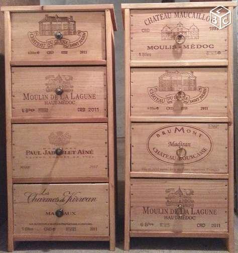 Meuble bois ,tiroir caisse de vins Ameublement Hauts-de-Seine - leboncoin.fr