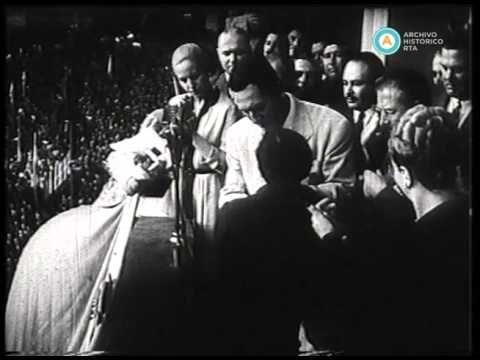 """""""Día de la lealtad"""", cortometraje conmemorativo, 1949"""