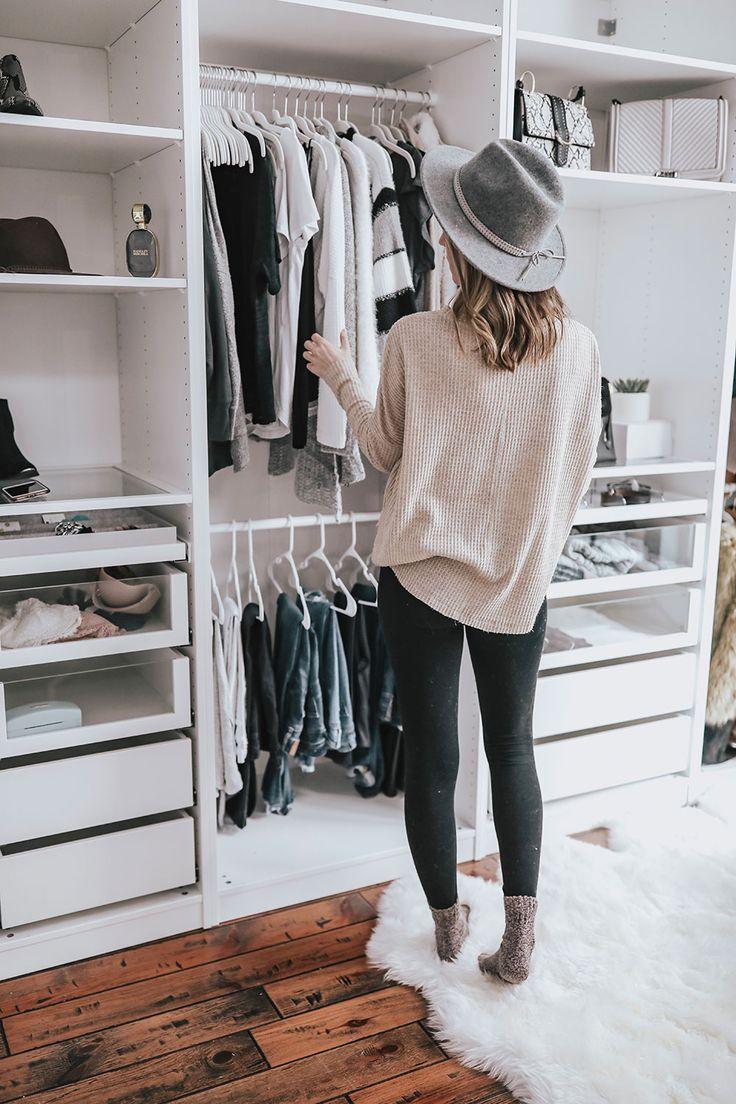 Custom Ikea Pax Wardrobe Closet