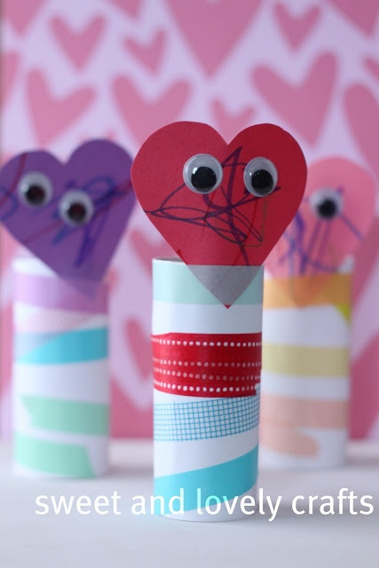 Kids Valentine craft
