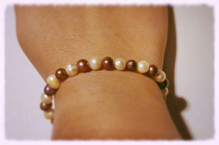 Perlas dos colores