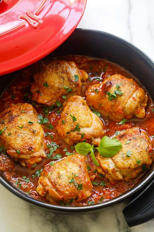 Italian Braised Chicken By Rasamalaysia A Delicious One