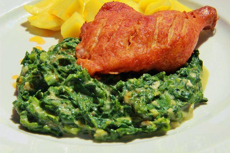 V kuchyni vždy otevřeno ...: Hlávkový salát jako špenát