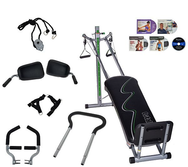 Fit in your workout and reach your fitness goals with the Total Gym Supreme…