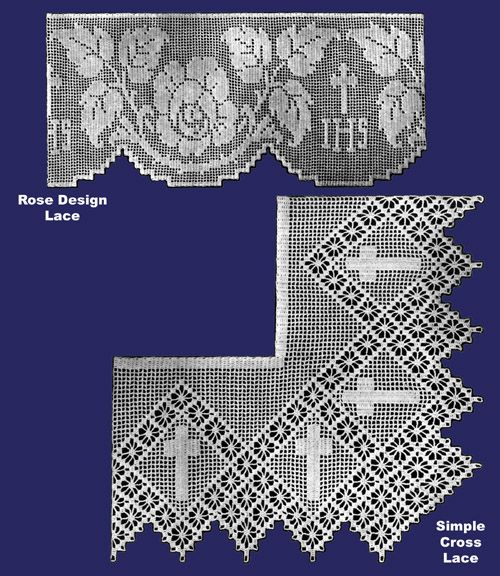 Iva Rose Vintage Reproductions - Weldon's 4D #128 c.1930's - Church Laces in Crochet