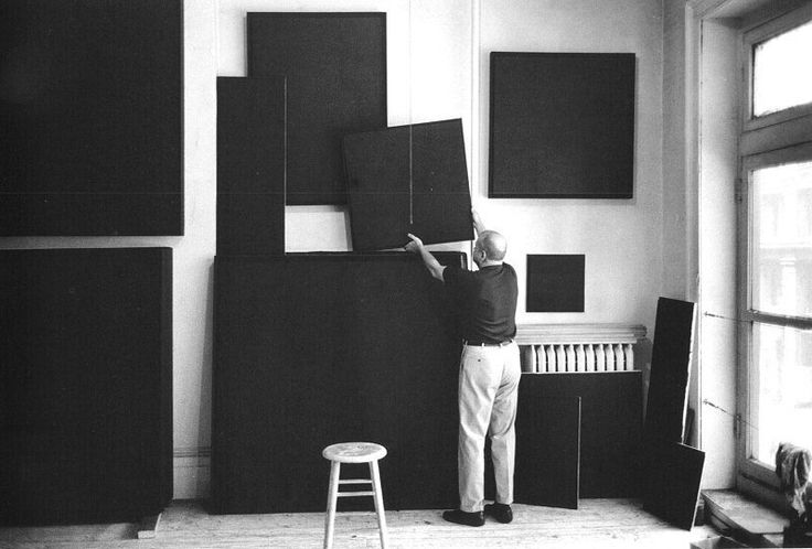 POUL WEBB ART BLOG: Ad Reinhardt - abstract expressionist   www.artexperiencenyc.com