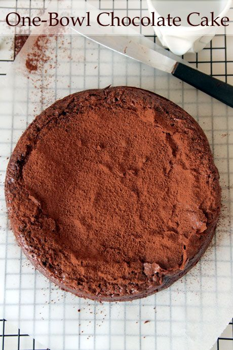 The Ultimate Easy One-Bowl Chocolate Cake!