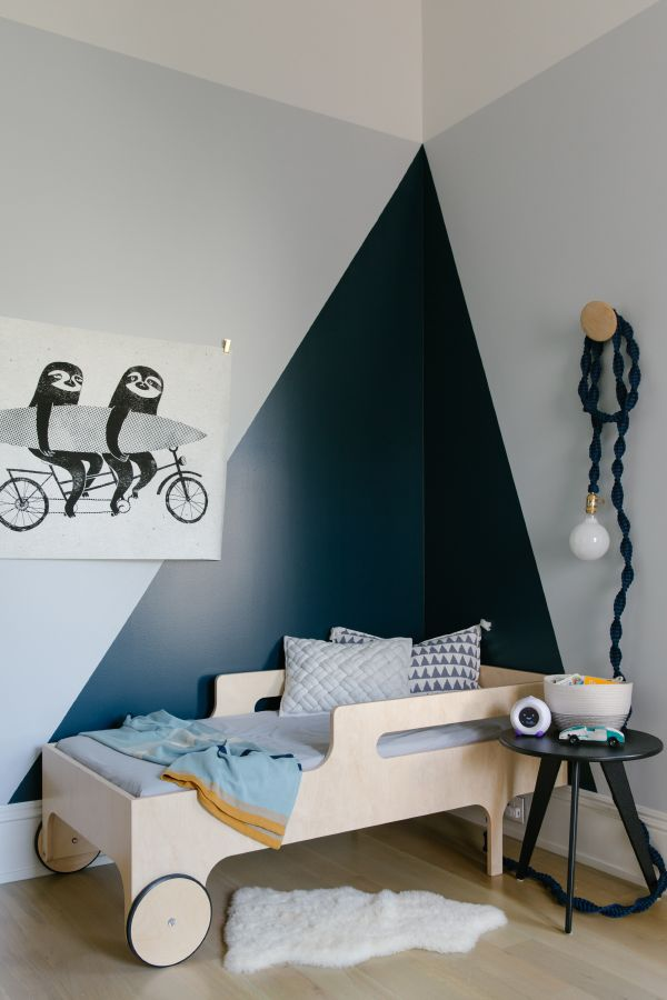 One Room Challenge Toddler Room On Apartment 34 Boy Room Paint Modern Toddler Room Toddler Boys Room