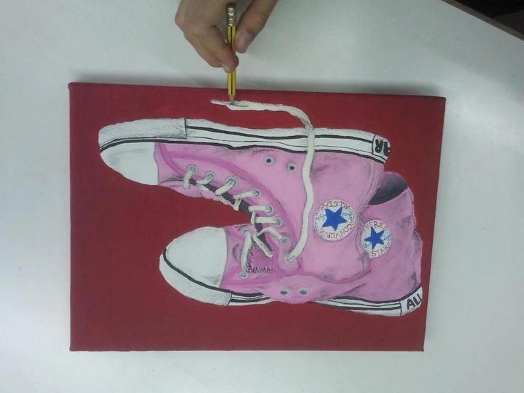 Taller de pintura joves curs 2012/13 www.escolatrac.com