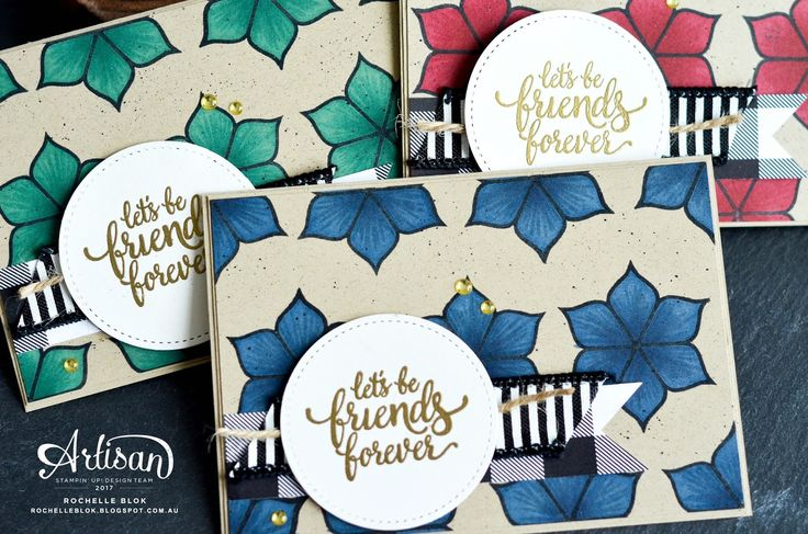 The Stamping Blok | Stamp Review Crew | Stampin' Up! Eastern Beauty Blog Hop | Stampin' Up! Stampin' Blends | Rochelle Blok