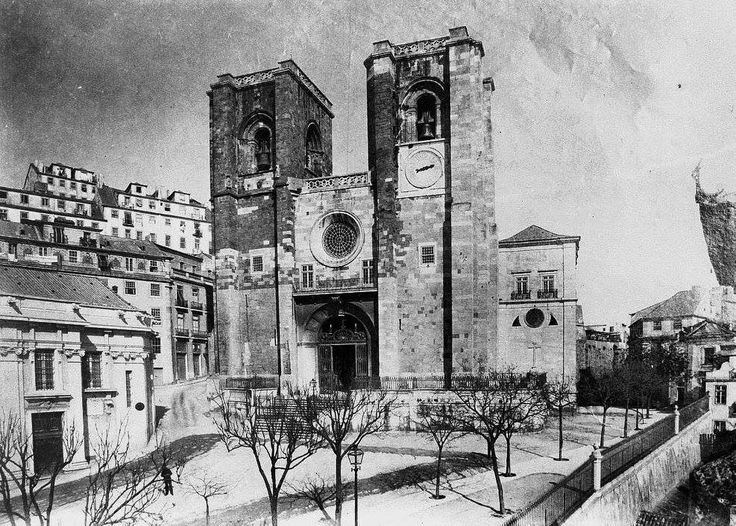 Sé de Lisboa, ant 1879