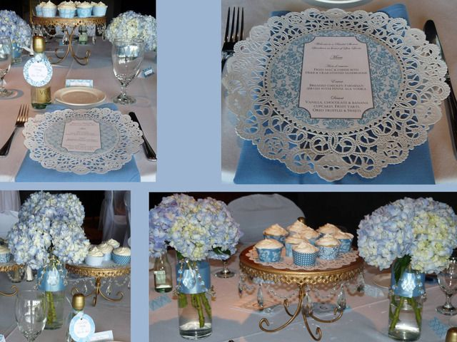 "Photo 1 of 7: Something Blue Bridal Shower / Bridal/Wedding Shower ""Something Blue Bridal Shower by A Charming Fête "" 