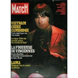 Paris Match - n°1554 - 09/03/1979 - Serge Lama : Pourquoi il bat le record des Beatles [magazine mis en vente par Presse-Mémoire]