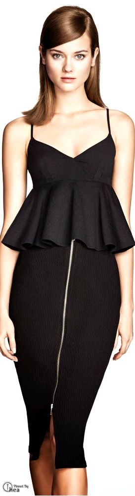 H&M ● 2014 little black dress