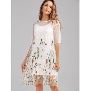 Картинки по запросу платье сетка с вышивкой купить