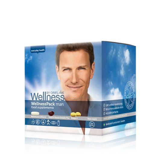Данный продукт можно приобрести только в Сервисном Центре Орифлэйм. Хочешь сбросить вес и стараешься питаться сбалансированно? Вэлнэс Пэк для мужчин — отличный выбор, чтобы получить все необходимые витамины и микроэлементы.