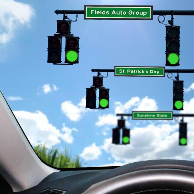 Cadillac Dealership Orlando Fl: May All Your Lights Be Green Today. Happy St. Patricks Day! #StPatricksDay…