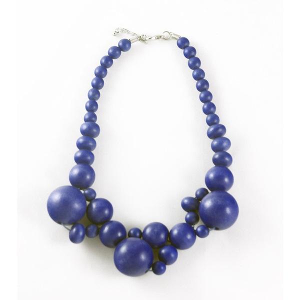 Vivid Jewellery - Sonrisa Necklace Blue