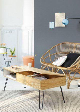 Tables basses rectangulaires: 10 idées déco pour meubler son salon - Marie Claire Maison