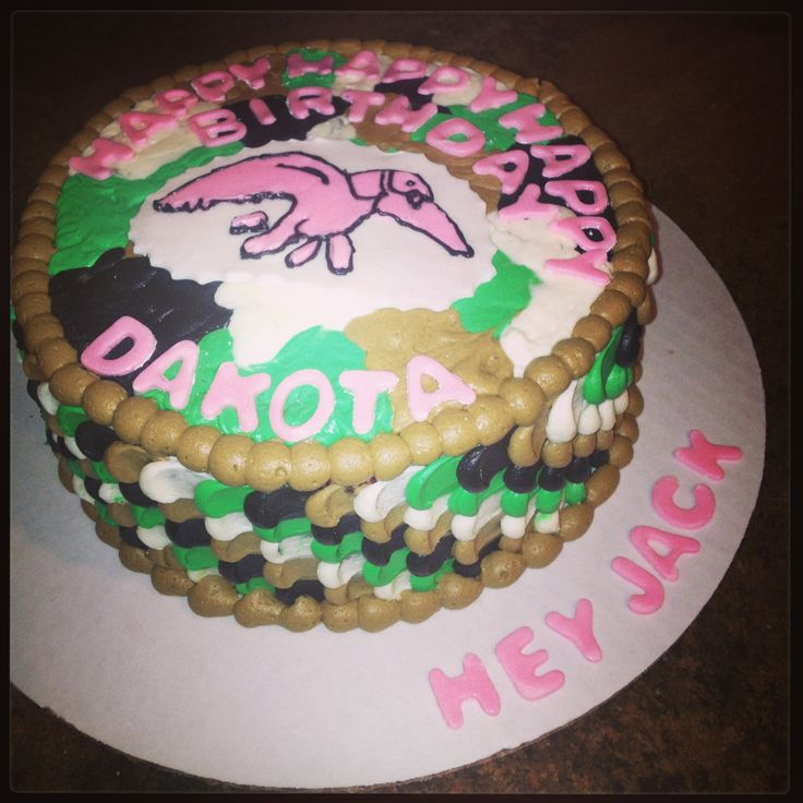 Girly Duck Dynasty Cake...