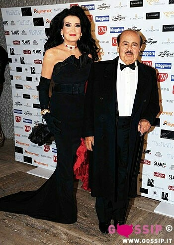 Adnan Khashoggi and wife Lamia