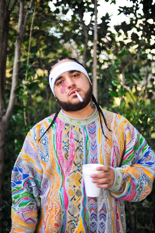 A$AP YAMS wearing Coogi Sweater | Lipstick and Pumps ...